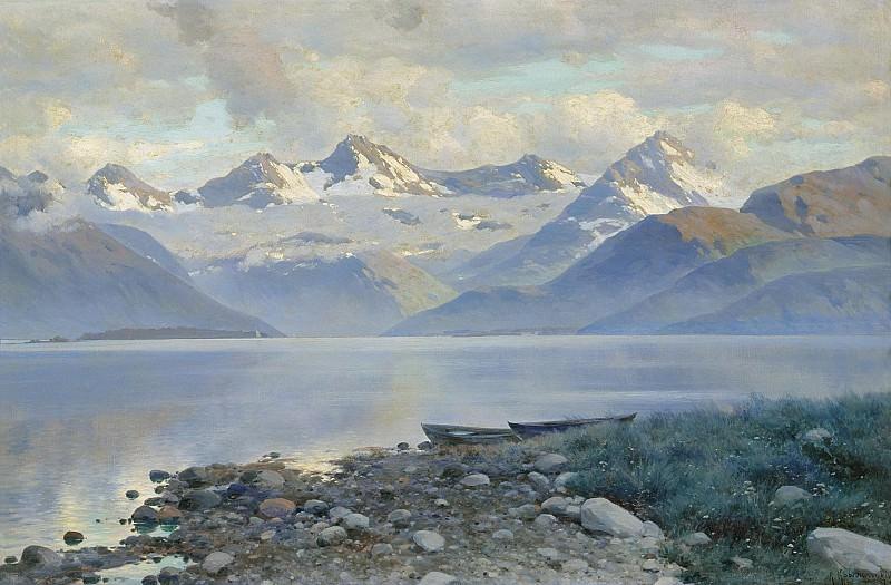 Озеро в горах. часть 1 - русских и советских худ Русские и советские художники