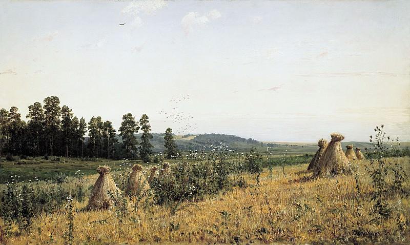 Пейзаж Полесья 1884 холст масло 72х118 см. часть 1 - русских и советских худ Русские и советские художники