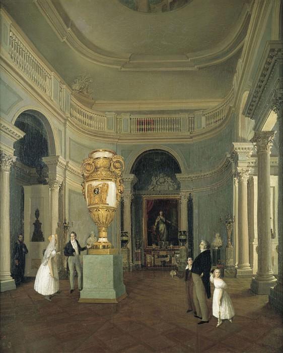 Овальный зал Старого Эрмитажа. часть 1 - русских и советских худ Русские и советские художники