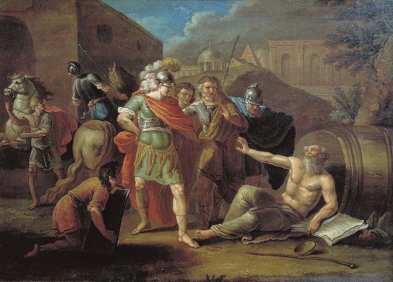 Александр Македонский перед Диогеном 1787. часть 1 - русских и советских худ Русские и советские художники