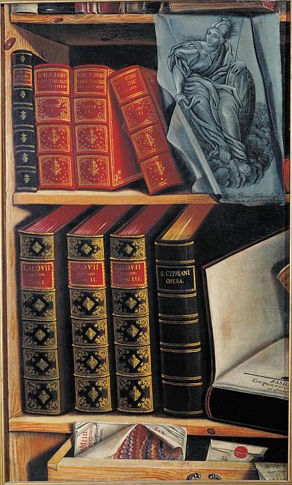 Натюрморт с книгами 1737. часть 1 - русских и советских худ Русские и советские художники