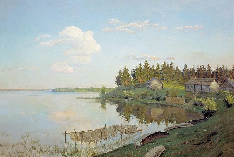 На озере 1893 холст масло 109х163 см. часть 1 - русских и советских худ Русские и советские художники