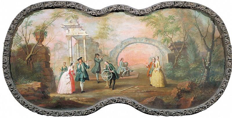 Астрономия Около 1754. часть 1 - Russian and soviet artists Русские и советские художники