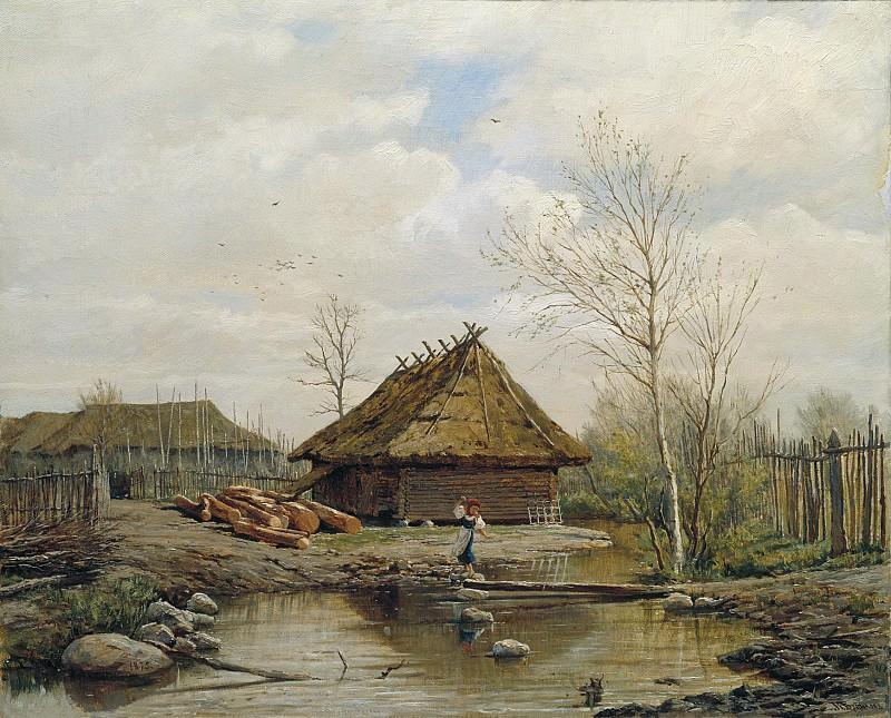 Весна 1875 Холст масло. часть 1 - русских и советских худ Русские и советские художники