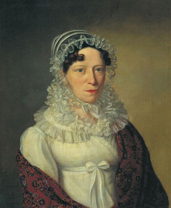 Женский портрет 1819. часть 1 - русских и советских худ Русские и советские художники