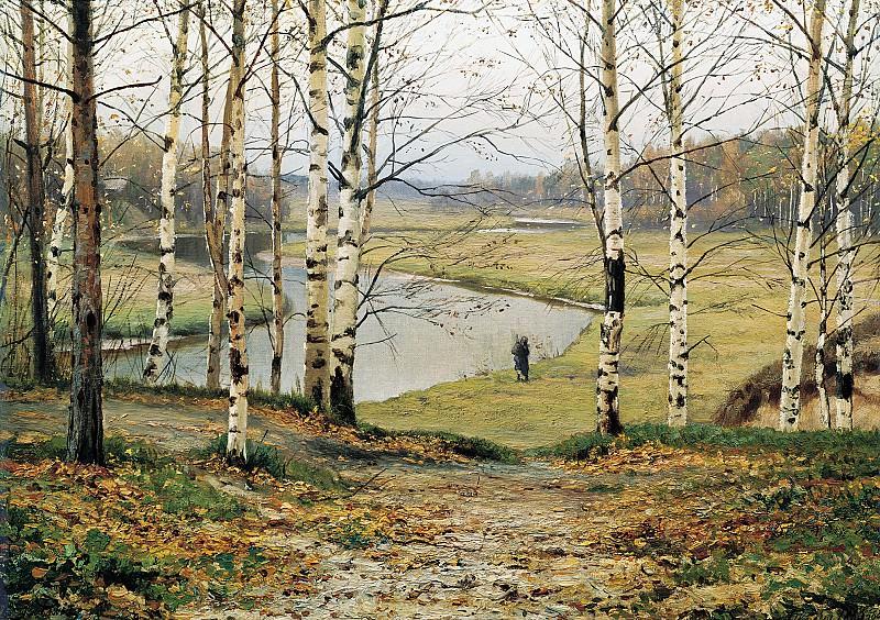 Октябрь 1883 Холст масло. часть 1 - русских и советских худ Русские и советские художники
