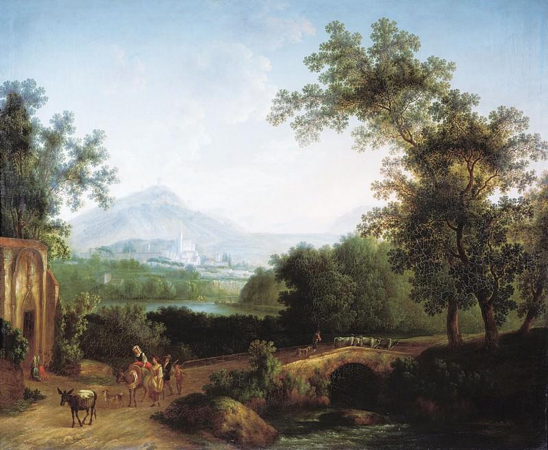 Итальянский пейзаж 1806. часть 1 - русских и советских худ Русские и советские художники