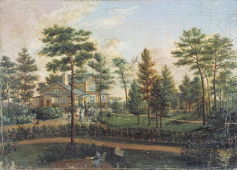 Дача в парке 1852. часть 1 - русских и советских худ Русские и советские художники