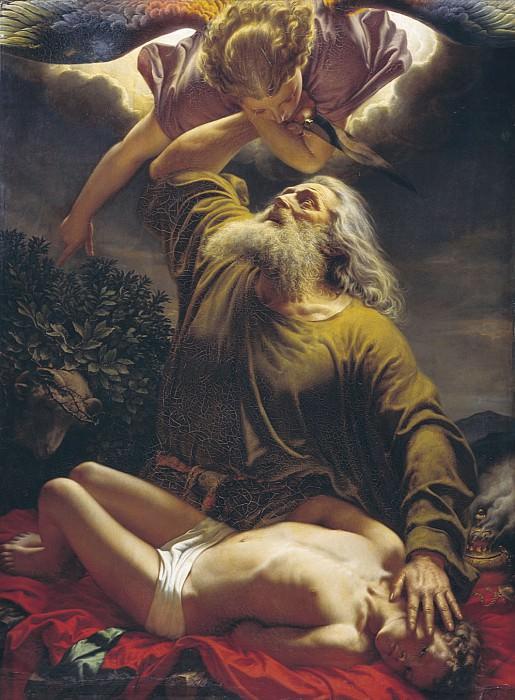 Авраам приносит Исаака в жертву 1849. часть 1 - русских и советских худ Русские и советские художники