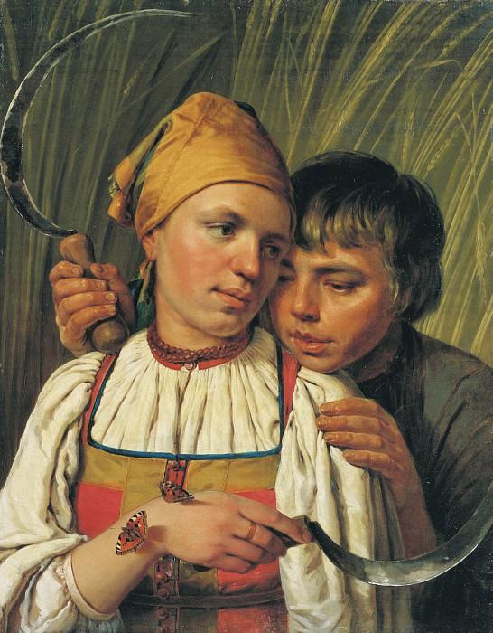 Жнецы Вторая половина 1820 х. часть 1 - русских и советских худ Русские и советские художники