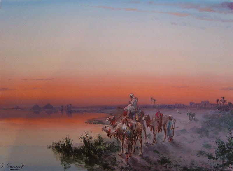 Paul B PASCAL The Banks of the Nile 90034 121. часть 4 -- European art Европейская живопись