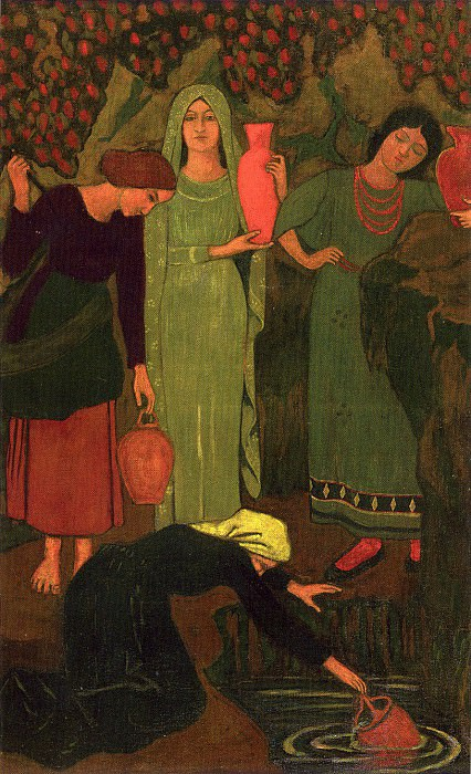Paul SERUSIER Lattente Г  la fontaine 40654 1146. часть 4 -- European art Европейская живопись