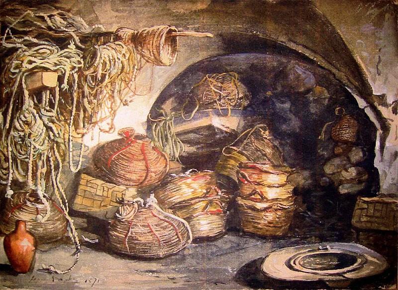 LUDOVIC LEPIC Fishing Equipment 11602 172. часть 4 -- European art Европейская живопись