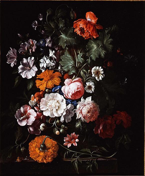 Philip Van Kouwenbergh A Flower Still Life 78259 276. часть 4 -- European art Европейская живопись
