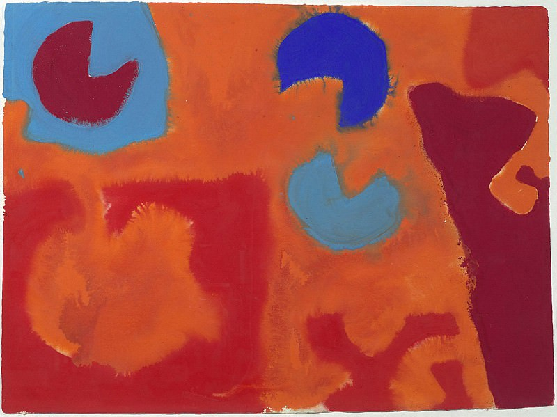 Patrick Heron Edinburgh I June 1967 36970 20. часть 4 -- European art Европейская живопись