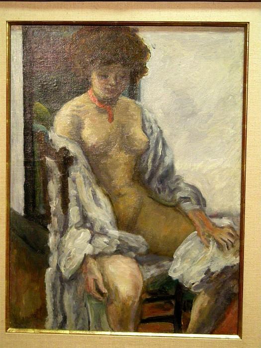 Pierre BONNARD Nu au peignoir 49339 1146. часть 4 - европейского искусства Европейская живопись