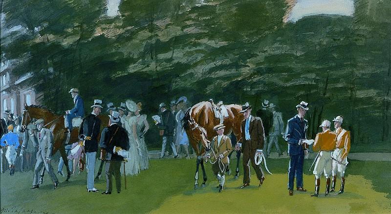 Maurice Taquoy Paddock 1939 3430 1184. часть 4 -- European art Европейская живопись