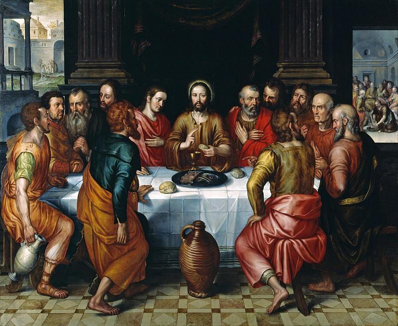 Pieter Jansz Pourbus The Last Supper 67999 321. часть 4 - европейского искусства Европейская живопись