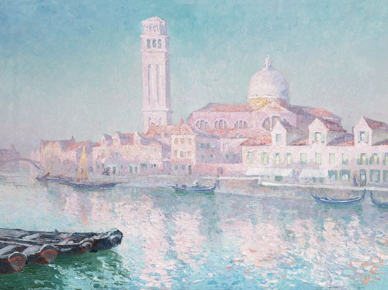 Paul Leduc View of Venice 18398 617. часть 4 -- European art Европейская живопись