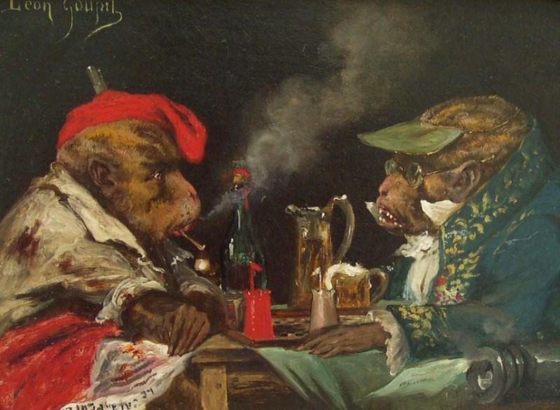LГ©on Lucien GOUPIL The Politicians 32407 617. часть 4 -- European art Европейская живопись