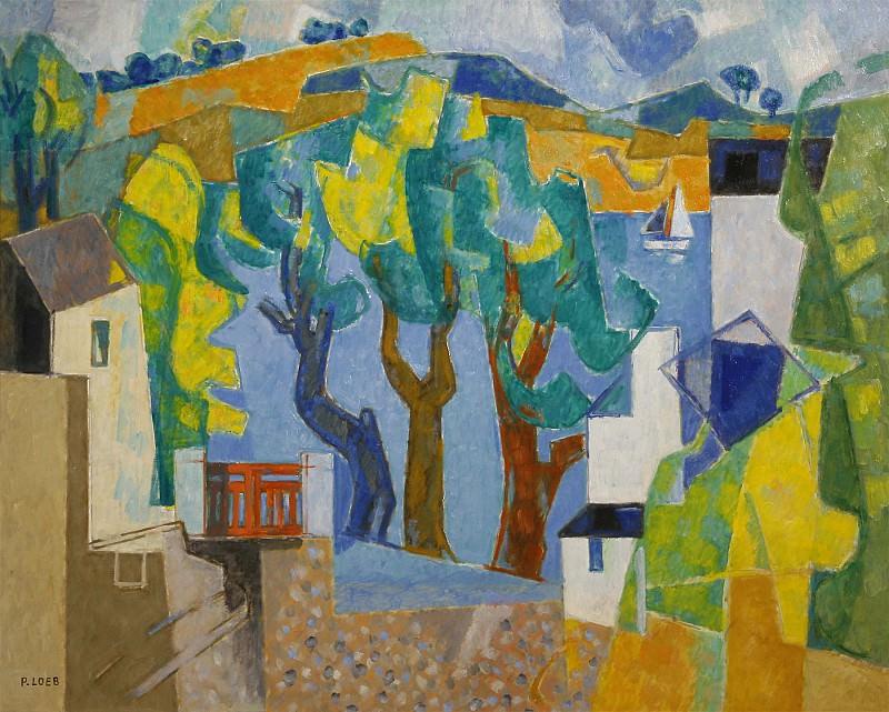 Pierre LOEB Port Manech 42126 3449. часть 4 -- European art Европейская живопись