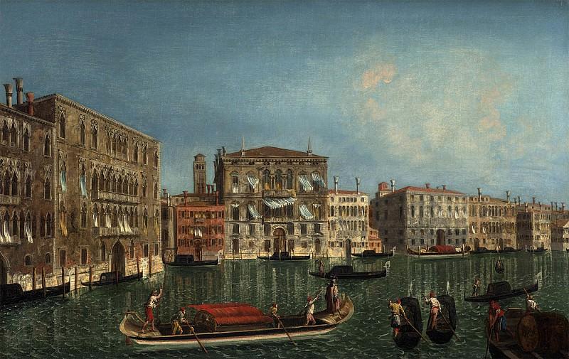 Мариески, Микеле The Grand Canal Venice with Palazzo Foscari and Palazzo Balbi 40273 20. часть 4 - европейского искусства Европейская живопись