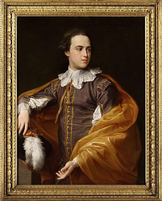 POMPEO GIROLAMO BATONI Portrait of Sir Charles Watson 1ST Bt half length in Van Dyck costume 83039 316. часть 4 -- European art Европейская живопись