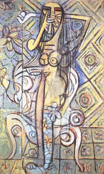 Nu Г la chaise 3273 1146. часть 4 -- European art Европейская живопись