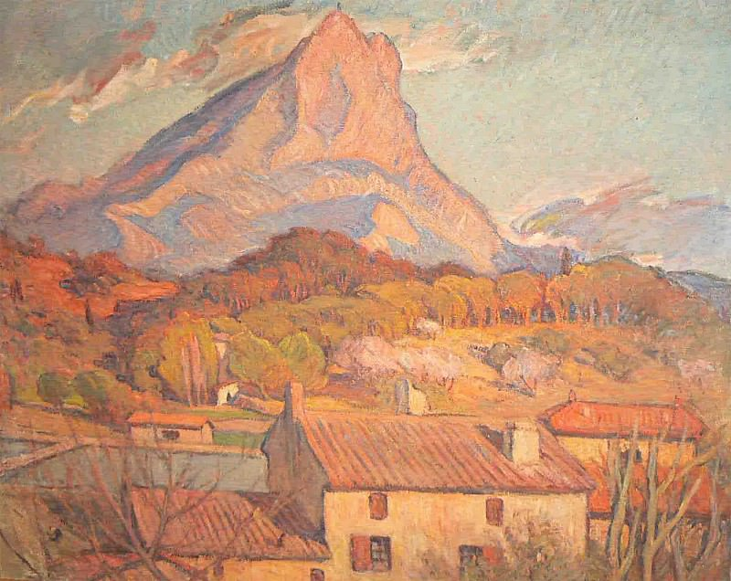 Marcel Arnaud La Sainte Victoire 36888 3306. часть 4 -- European art Европейская живопись