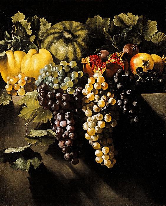 Master of the Acquavella Still LifeRome 1615 1630 1635 Still Life with Fruit 16216 203. часть 4 -- European art Европейская живопись