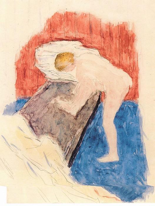 Pierre Bonnard Nu a la baignoire 40126 1184. часть 4 -- European art Европейская живопись