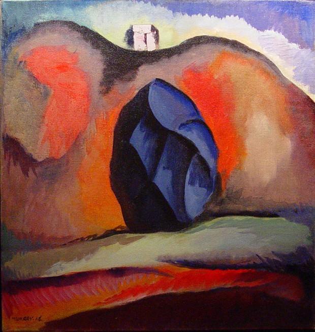 MAN RAY Rampo Hills 1914 122305 1184. часть 4 -- European art Европейская живопись