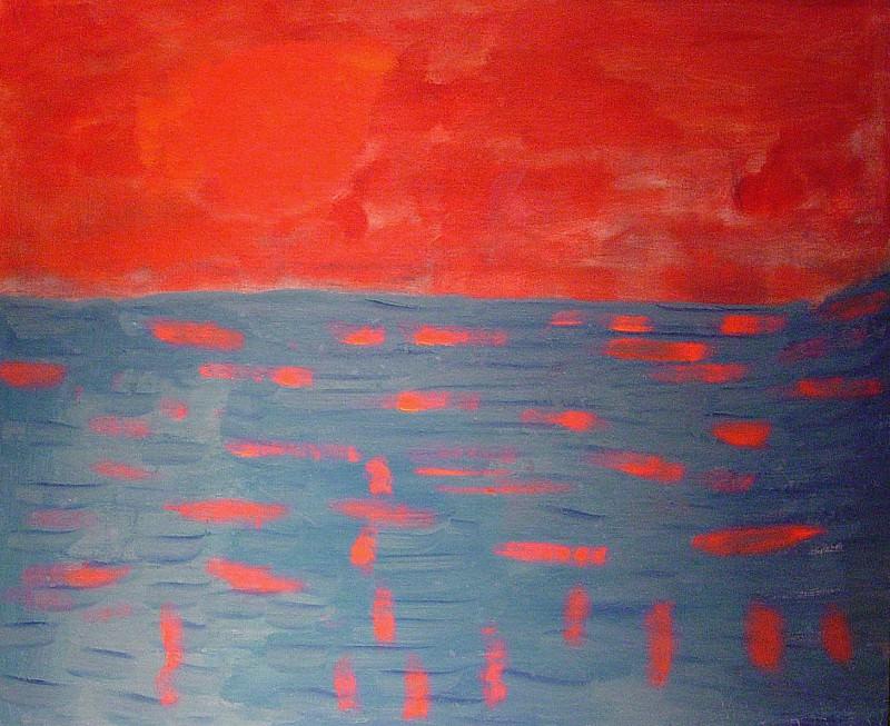 Milton Avery Dawning Sun 1962 122304 1184. часть 4 -- European art Европейская живопись