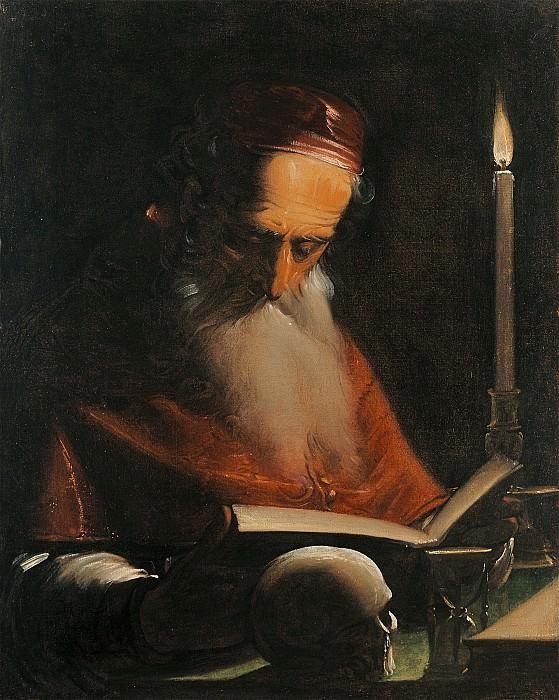 Luca Cambiaso Saint Jerome 16102 203. часть 4 -- European art Европейская живопись