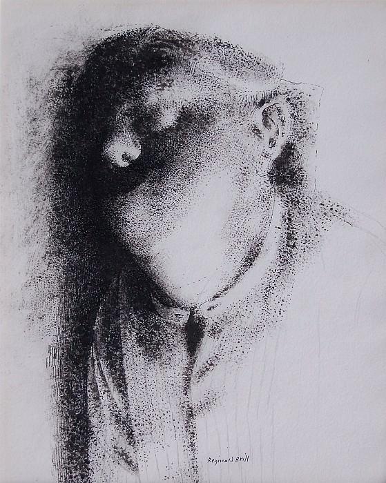 Reginald Brill Sleeping man 4560 1184. часть 4 -- European art Европейская живопись