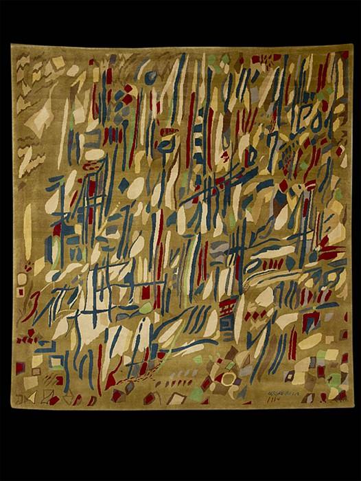 Manuel Cargaleiro Rug nВ°55 36667 1244. часть 4 -- European art Европейская живопись