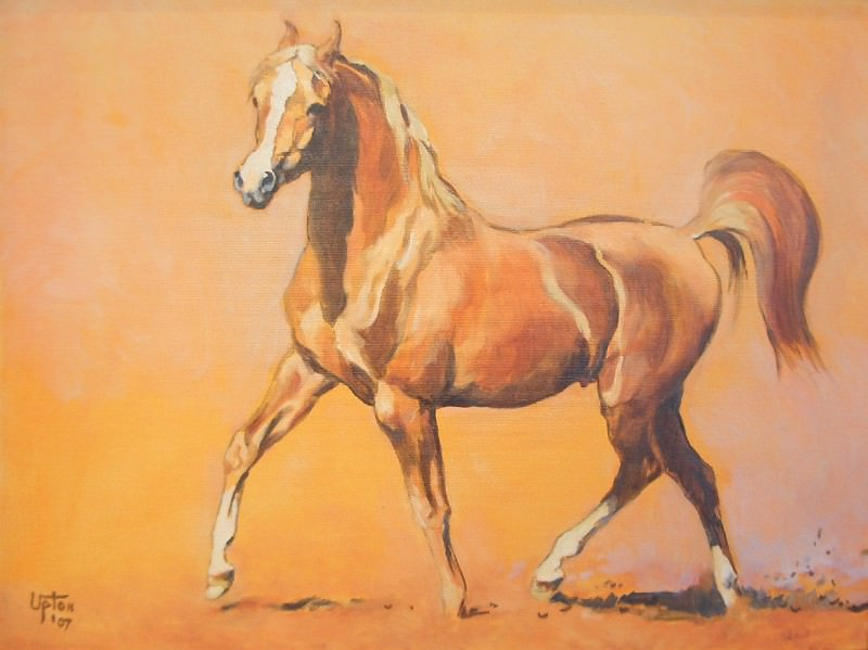Peter Upton A Young Stallion 76339 3606. часть 4 -- European art Европейская живопись