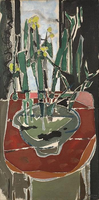 Patrick Heron Still life with Jonquils 28340 20. часть 4 -- European art Европейская живопись