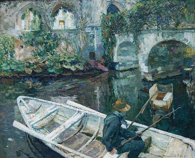MAURICE SYS Le pГЄcheur d'anguilles 51559 1184. часть 4 -- European art Европейская живопись