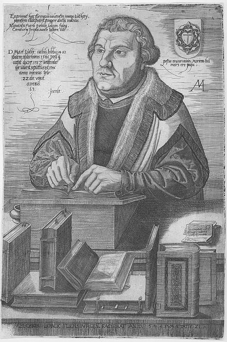 Melchior Lorch Martin Luther 30083 1124. часть 4 -- European art Европейская живопись