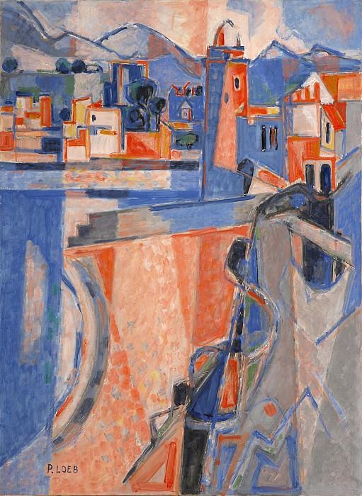 Pierre LOEB Collioure 42130 3449. часть 4 -- European art Европейская живопись