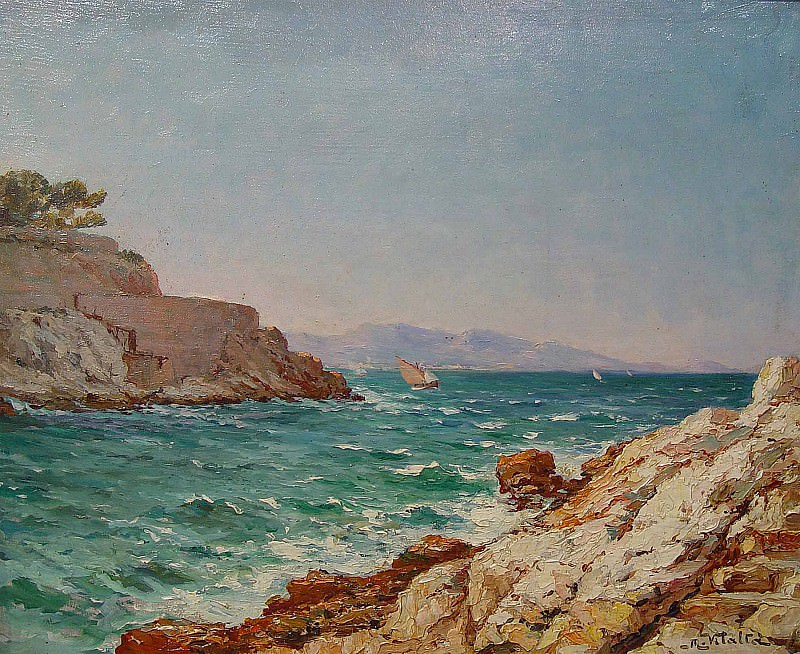 Michel Vilalta Marseille 36956 3306. часть 4 -- European art Европейская живопись