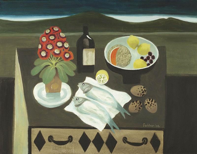 Mary Fedden Chest of drawers 98241 20. часть 4 -- European art Европейская живопись