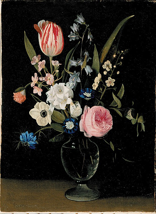Maria Theresia Thielen Flower Still Life 357 268. часть 4 -- European art Европейская живопись