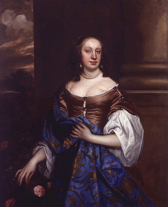 Peter Lely An Unknown Young Lady' i 32755 321. часть 4 -- European art Европейская живопись