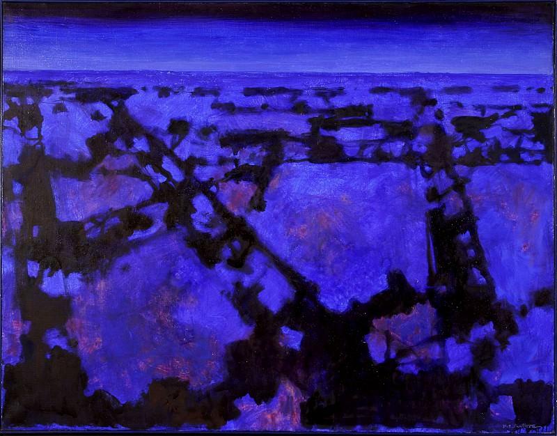 Maurice Elie SARTHOU Survol les chemins de la nuit 67619 3449. часть 4 -- European art Европейская живопись
