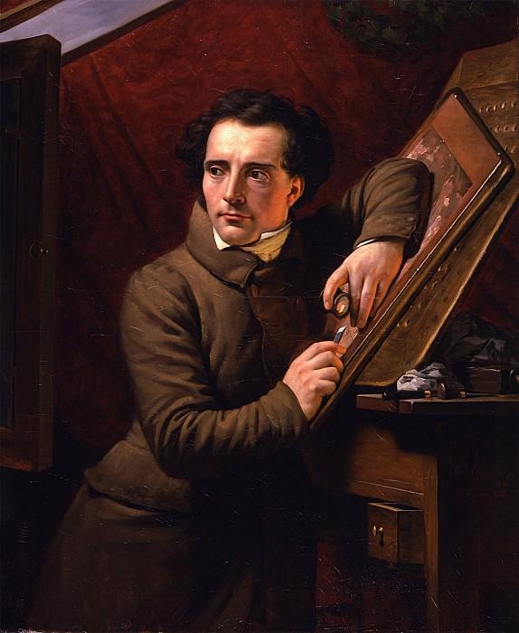 PAUL CLAUDE MICHEL LE CARPENTIER Portrait of Antoine Francois GelГ©e 29896 172. часть 4 - европейского искусства Европейская живопись