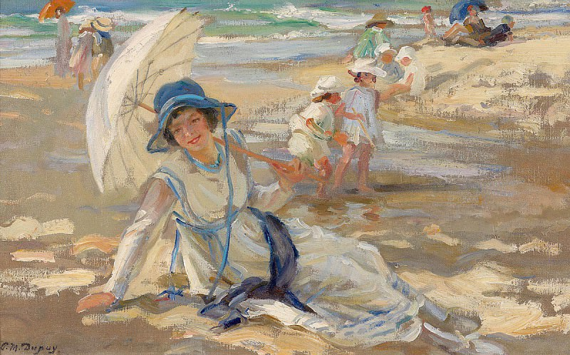 Paul Michel Dupuy At the Beach 37510 121. часть 4 -- European art Европейская живопись