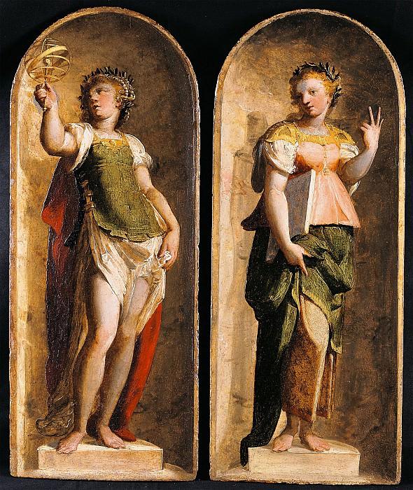 Luca Cambiaso Music Geometry Arithmetic Astronomy 16100 203. часть 4 -- European art Европейская живопись