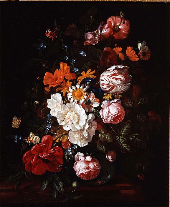Philip Van Kouwenbergh A Flower Still Life 78279 276. часть 4 -- European art Европейская живопись